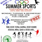 BBBCO Summer Sports